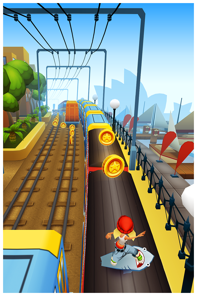 Subway Surfers iPhone, iPad Screenshot